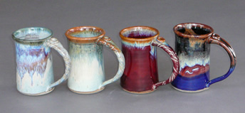 Handmade coffee mugs