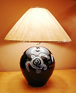 Handmade Ceramic Turtle Lamp